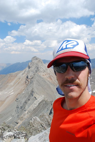 On the Summit of Cobb Peak 11,650', Pioneer Mountains, Idaho