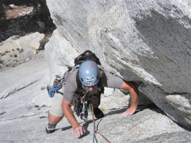 Rock Climbing Photo: Doug Nidever on pitch 2