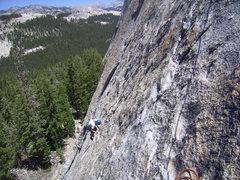 Rock Climbing Photo: pitch 2, I think