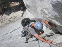 Rock Climbing Photo: Pitch 2, Doug