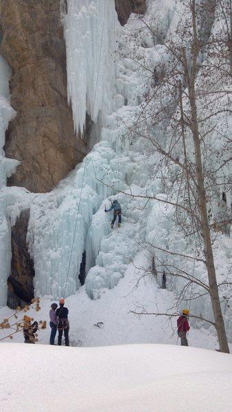 Ice gully
