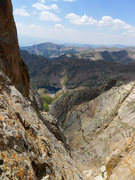 Rock Climbing Photo: Pretty good rock in the alpine sense.