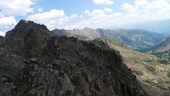 Rock Climbing Photo: Another view looking toward East Partner.
