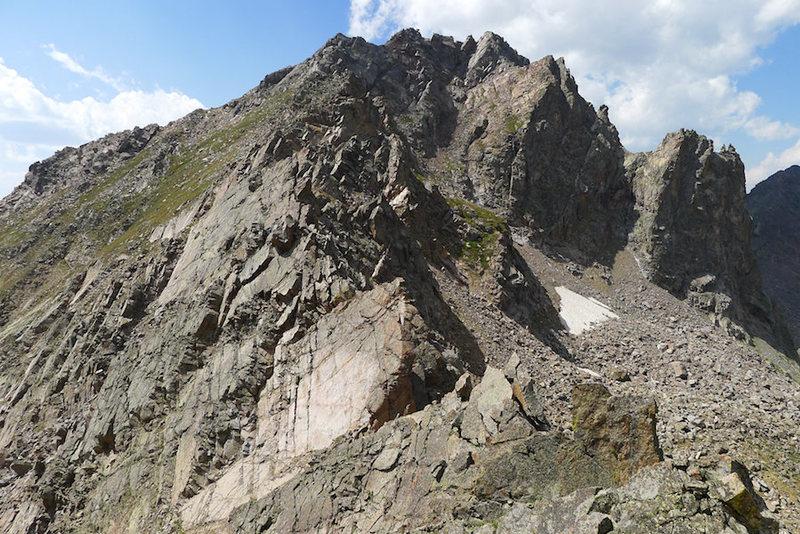 Rock Climbing Photo: West Partner.