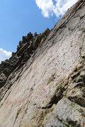 Rock Climbing Photo: Fun (optional) slab traverse.