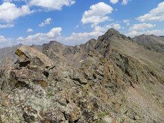 Rock Climbing Photo: Another view toward East Partner.