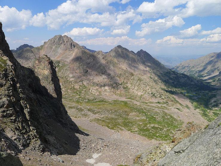 Rock Climbing Photo: View north (?).