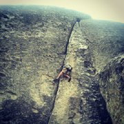 Rock Climbing Photo: colombian crack, city of rocks