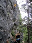 Rock Climbing Photo: medusa