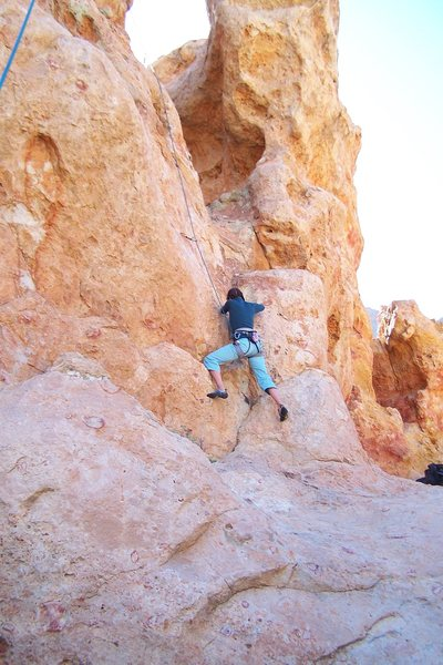Chica Escalada en Parc National de Tenerife. (I get French and Spanish mixed up sometimes.)