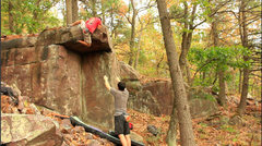 Rock Climbing Photo: Doing it.  Actually the fall will probably be clea...
