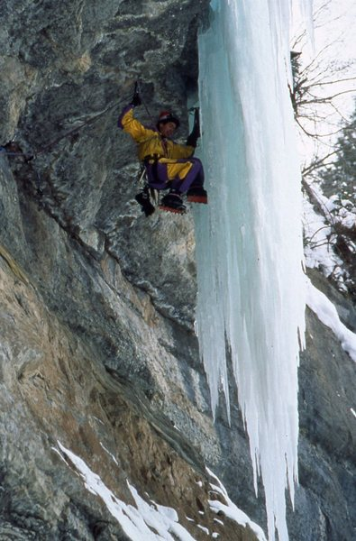 Rock Climbing Photo: Octopussy. Vail, sometime in the mid '90s.