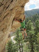 Rock Climbing Photo: Taylor Hagel takes down Pinch Hitter!