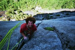 Rock Climbing Photo: I think this is the top of the 2nd pitch of War of...