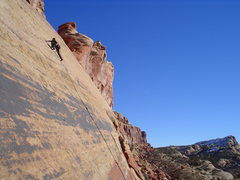 Rock Climbing Photo: I think this is Melanoma Shuffle or whatever is cl...