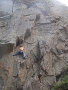 Rock Climbing Photo: Mix on Convergence Corner.