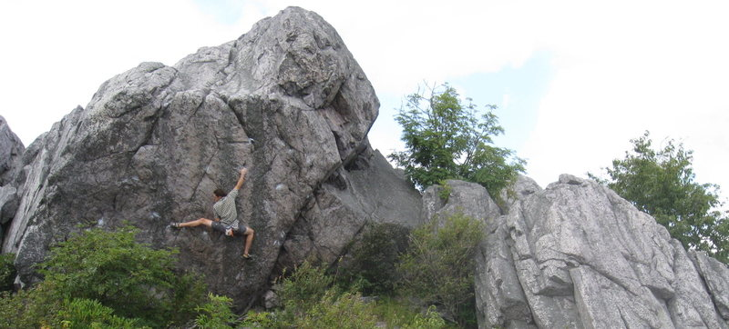 Rock Climbing Photo: Horizon Line