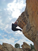 Rock Climbing Photo: Fun topout.
