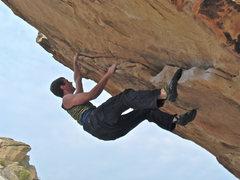 Rock Climbing Photo: Best beginner problem in GJ.