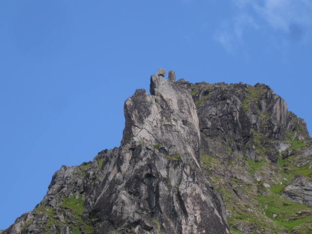 """Rock Climbing Photo: """"The Goat"""" in the distance"""