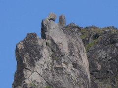 Rock Climbing Photo: Closer view