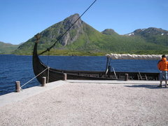 viking ships at the museum