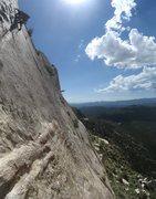 Rock Climbing Photo: Passing Bolt 3