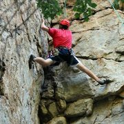 Rock Climbing Photo: Climbing Fudge Shop at Nelson Rocks