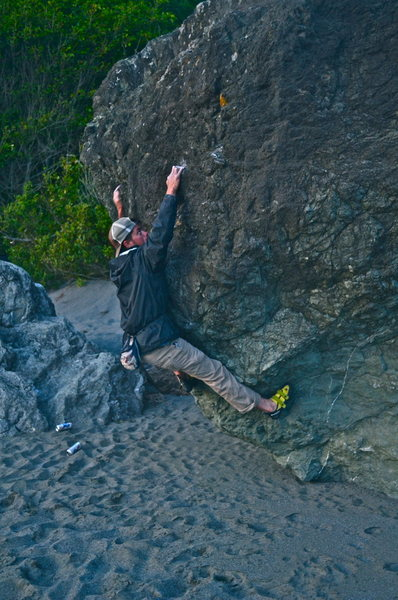 Rock Climbing Photo: Luffenholtz Beach