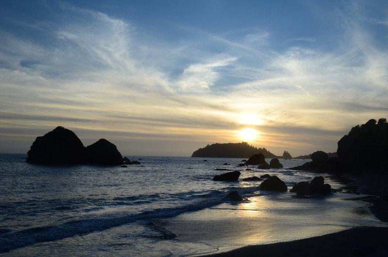 Sunset @ luffenholtz<br>