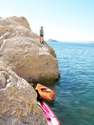 Rock Climbing Photo: Inflatable Kayak for forum post