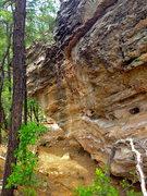 Rock Climbing Photo: Keystone Cave Boulder.