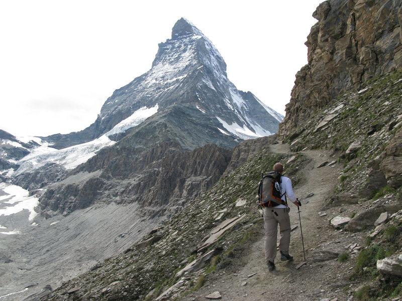 Rock Climbing Photo: Approaching the Matterhorn