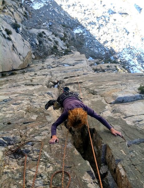 The featured crack on the last pitch.