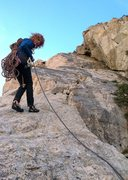 Rock Climbing Photo: Rappelling the Three Hour Buttress.  Three Hour Ar...
