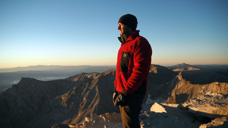 On top of Mount Whitney