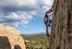 Rock Climbing Photo: Holcomb Valley