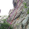 TWO PITCH WALL<br> <br> 1)Cambodian Holiday(5.9)trad<br> 2)Sketch Mex(5.8)trad