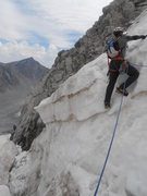 Rock Climbing Photo: Snowbridge @ Gooseneck Glacier.