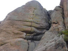 Rock Climbing Photo: The crack and the climb.