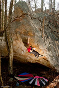 Rock Climbing Photo: Choctaw Sundial