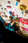 Rock Climbing Photo: Tetris Wall at the Energy Rock Gym