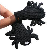 spider mittens?
