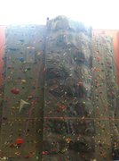 Pinedale Aquatic Center climbing wall