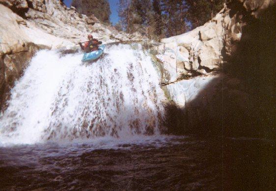 Falls on Brush Creek Kern Valley, CA.
