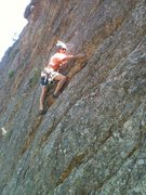 Rock Climbing Photo: On Gneiss Lee Done.
