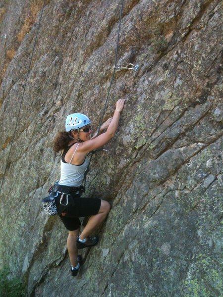 Rock Climbing Photo: The route's namesake.
