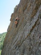 Rock Climbing Photo: Tracy more than likely on the second route from th...