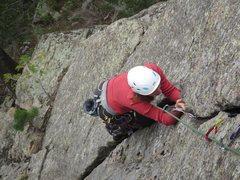 Rock Climbing Photo: On Planetary Pull, fun crack!