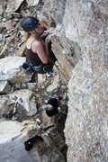 Rock Climbing Photo: Laura Stade on Rise and Revolt.